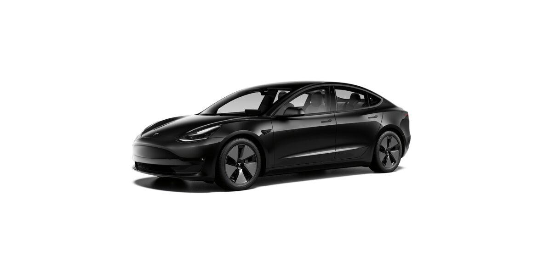 Black Tesla Model 3
